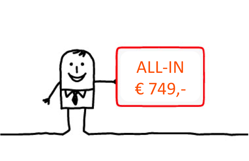 Escrow Agreement Costs Escrowregeling from EscrowDirect.EU for € 749 per year Costs